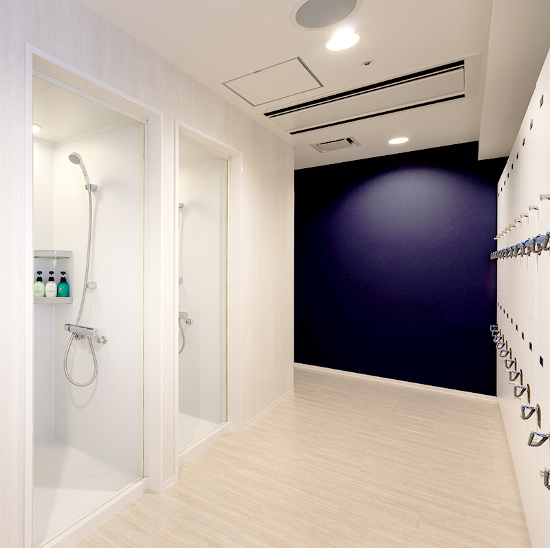 1.シャワールーム